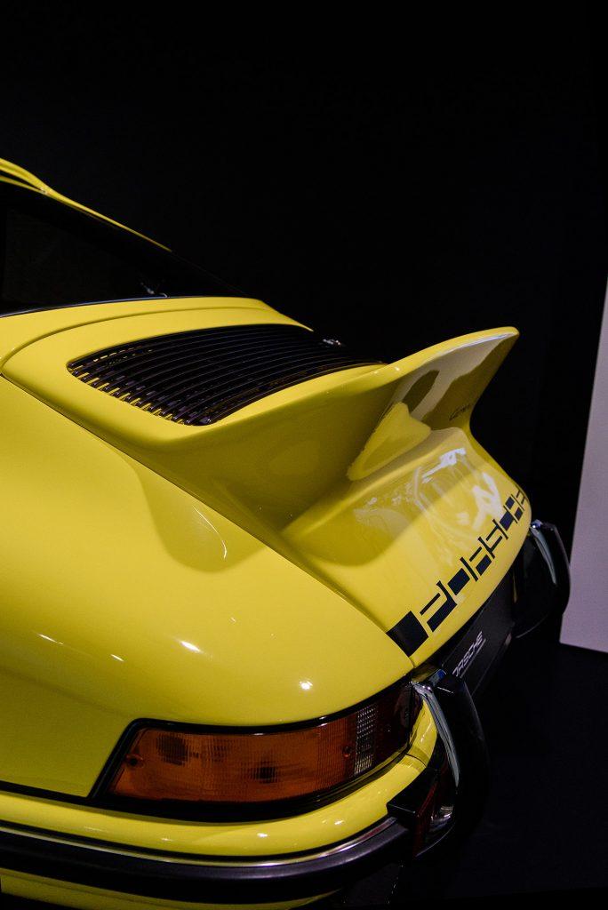 """Porsche 911 Carrera RS 2.7 Coupé i spojler """"duck tail"""""""