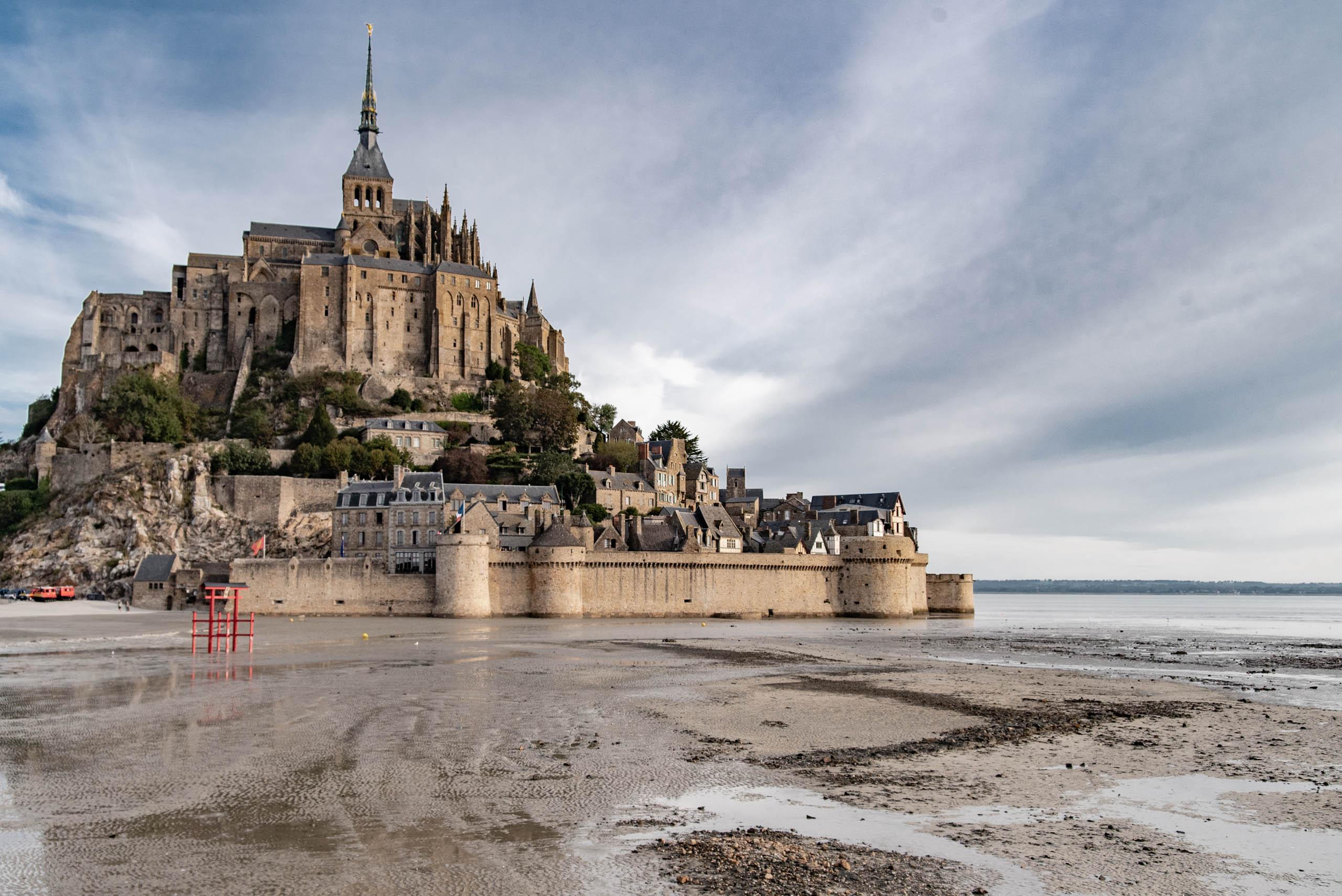 Sanktuarium Michała Archanioła na Mont Saint-Michel
