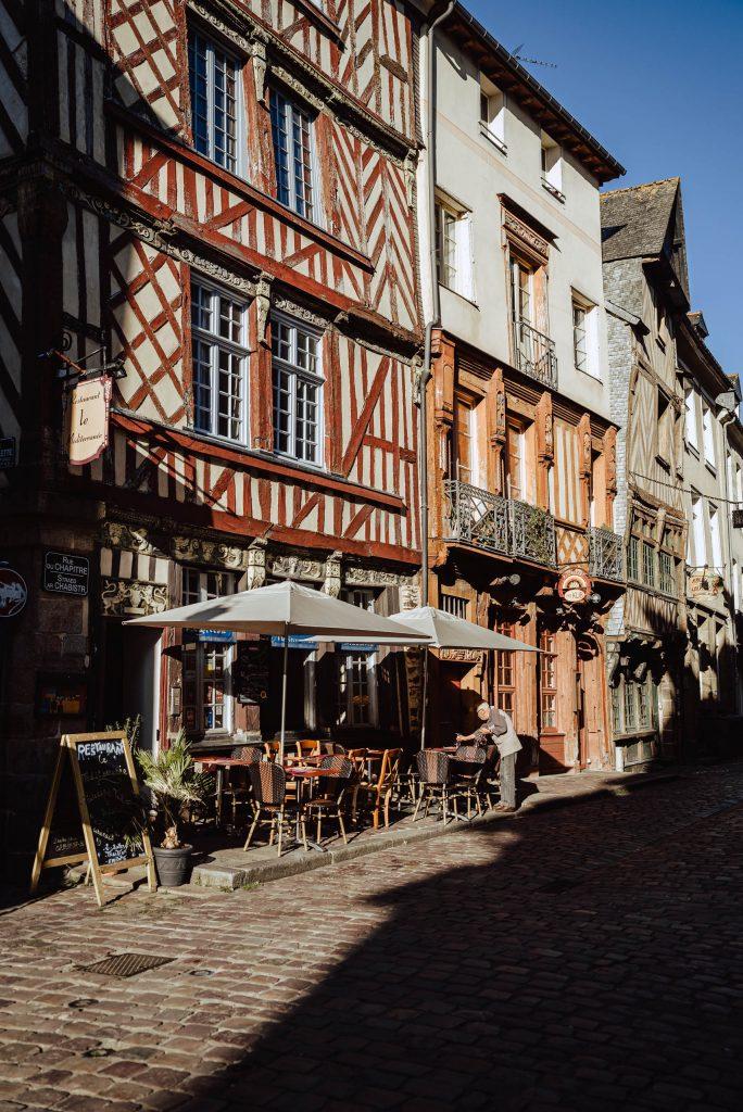 Kawiarnia w Rennes
