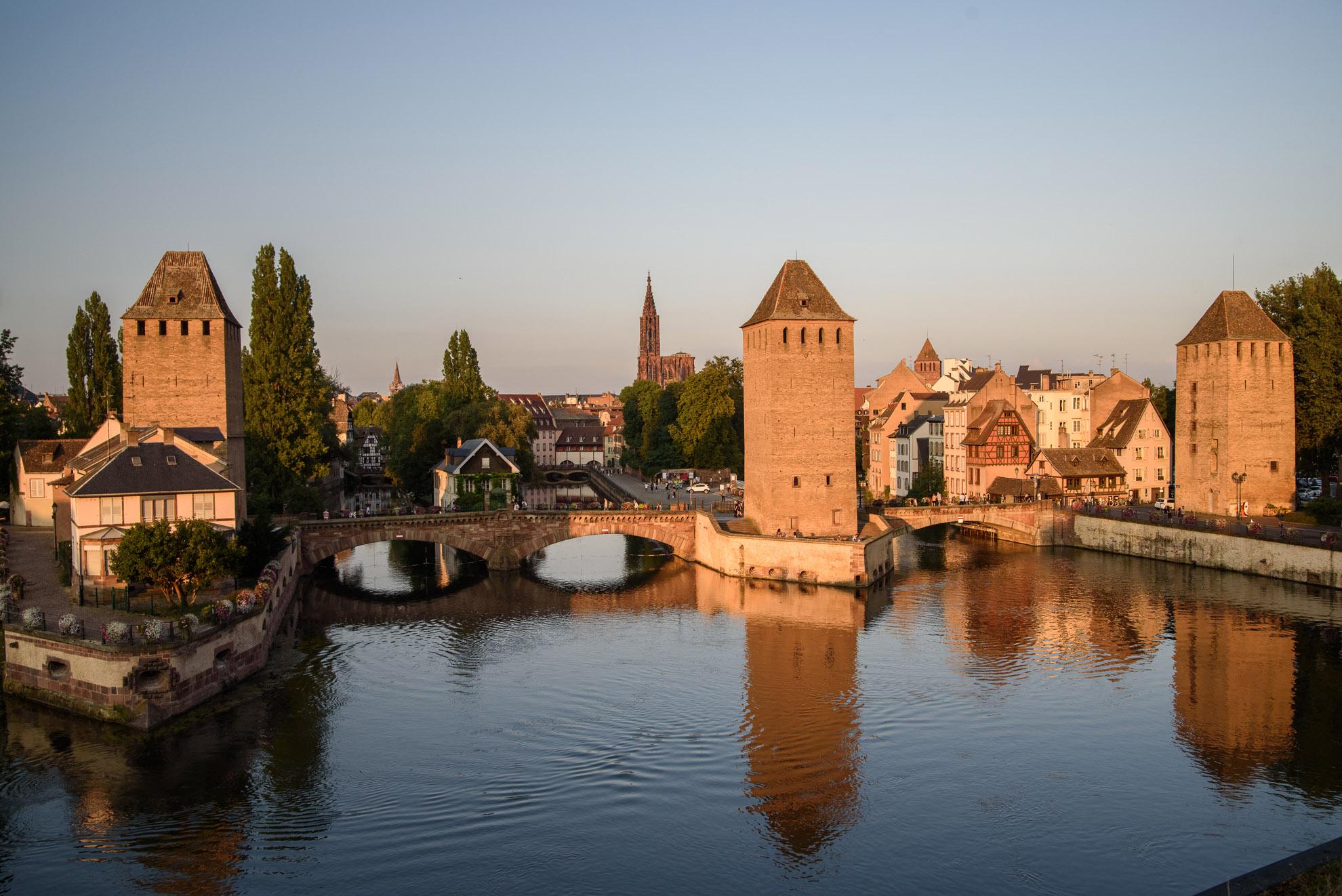 Grande Île - część Strasburga wpisana na listę Unesco