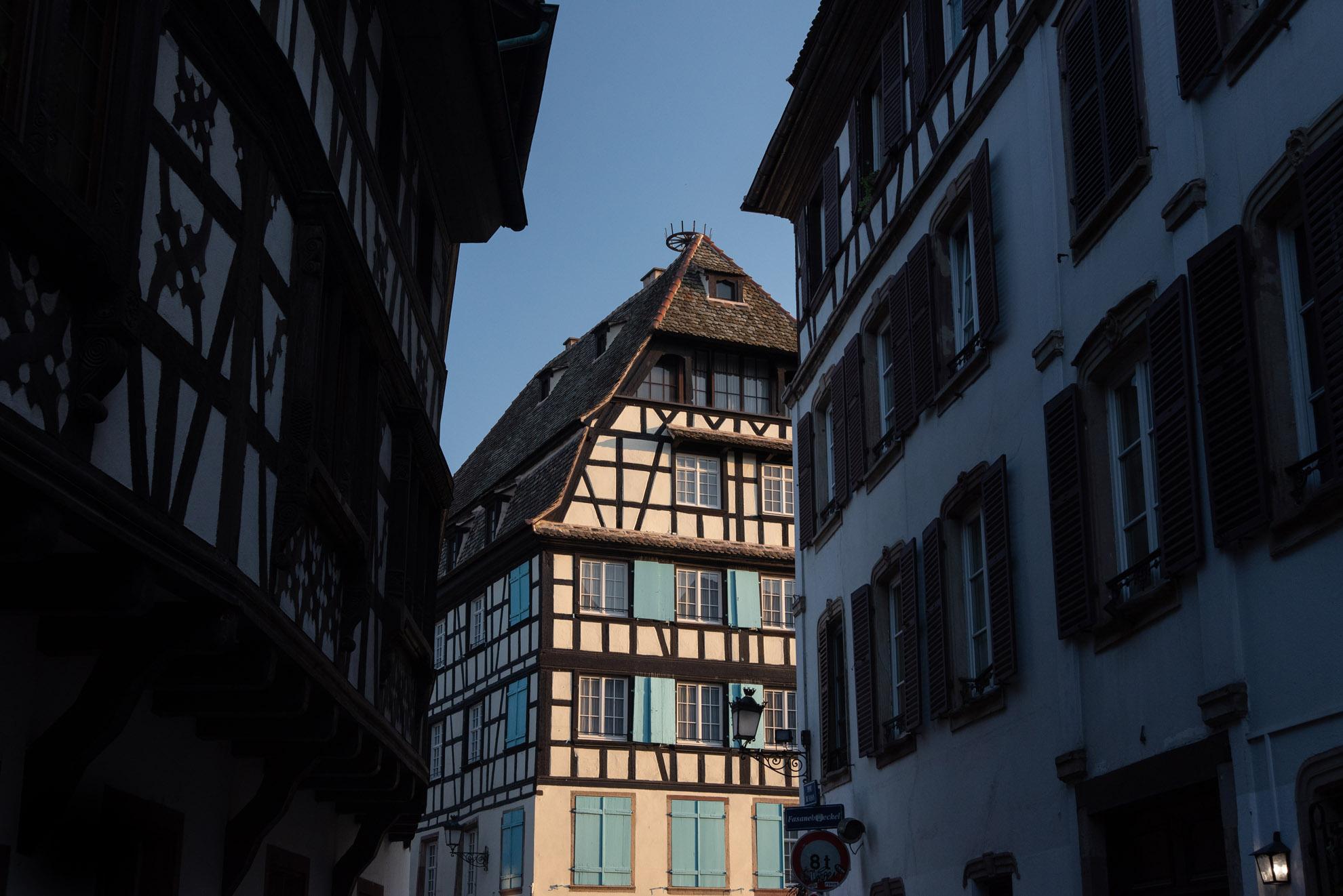 Mała Francja - dzielnica Strasburga