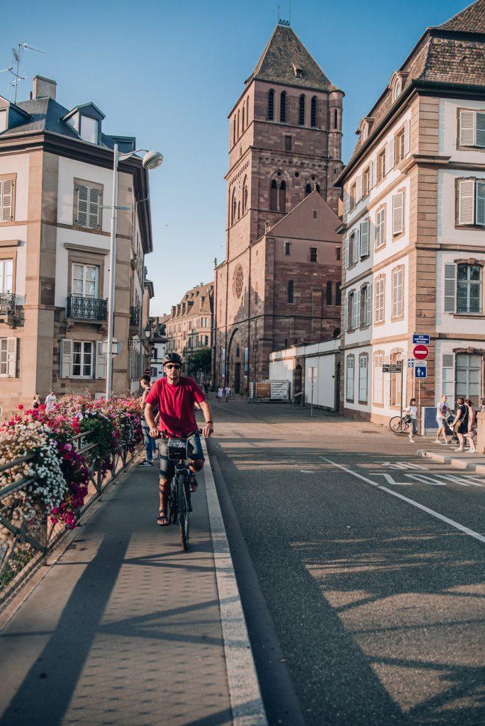 Strasburg - spacer nad kanałem