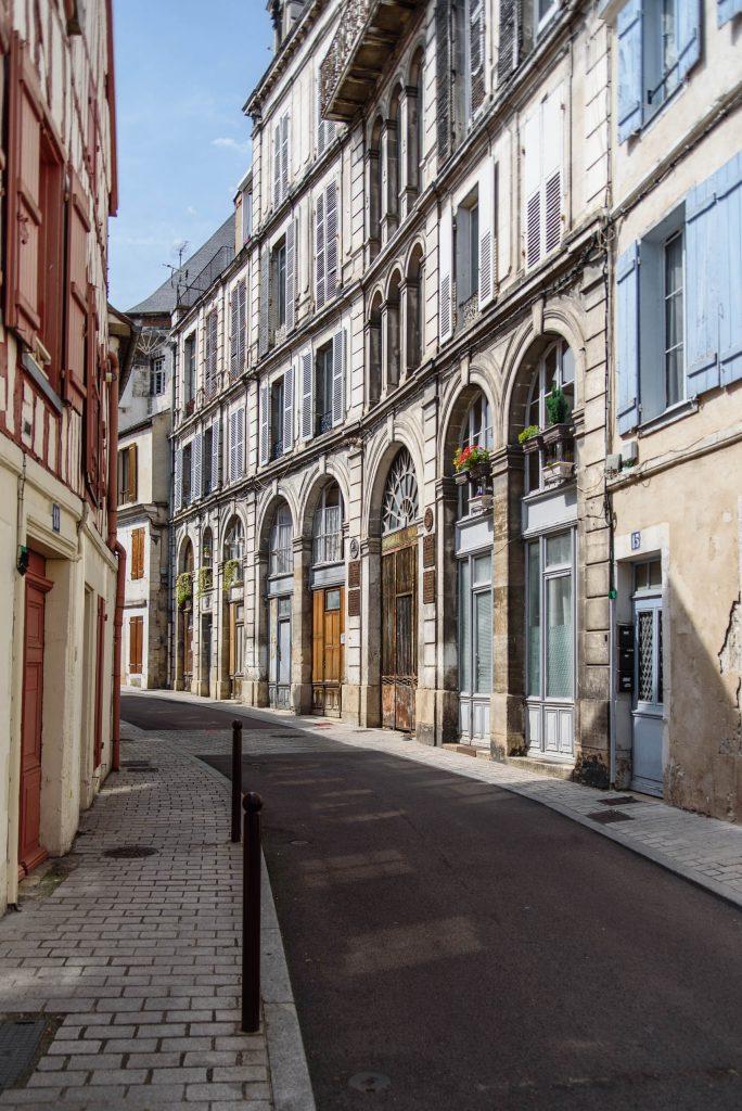 Auxerre - kamienice