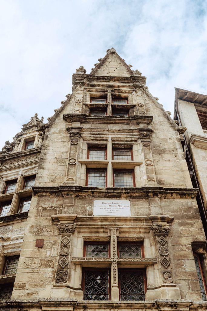 Maison de La Boétie - dom przyjaciela Monteskiusza