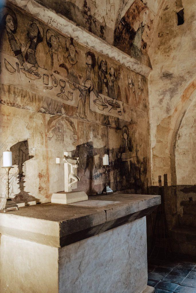 Kapliczka w Zamku Beynac