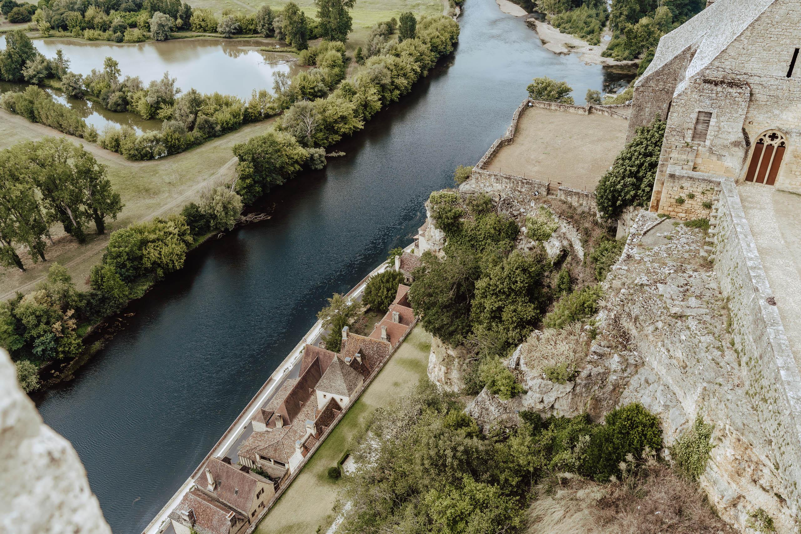 Widok z zamku Beynac