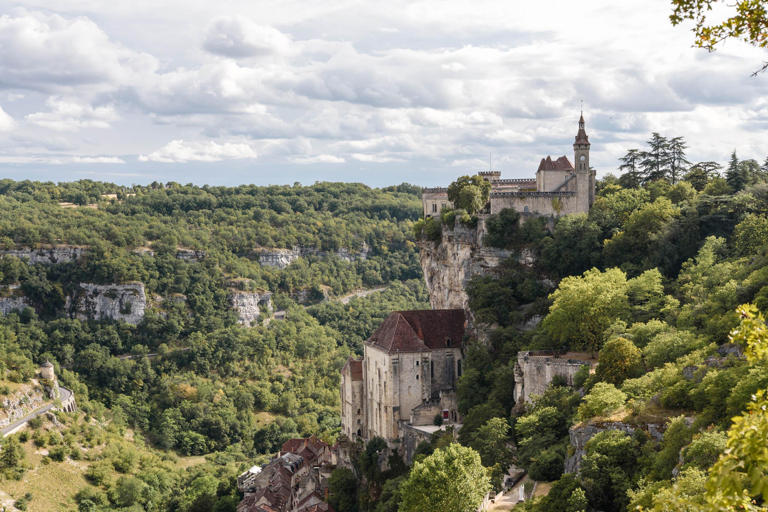 Sanktuarium Czarnej Madonny w Rocamadour