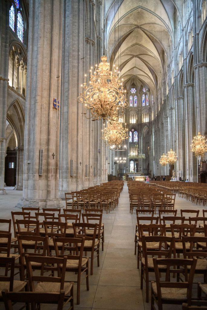 Cathédrale Saint-Étienne de Bourges - wnętrza