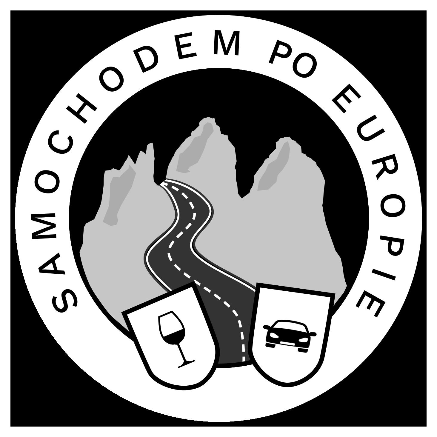 Samochodem po Europie - logo