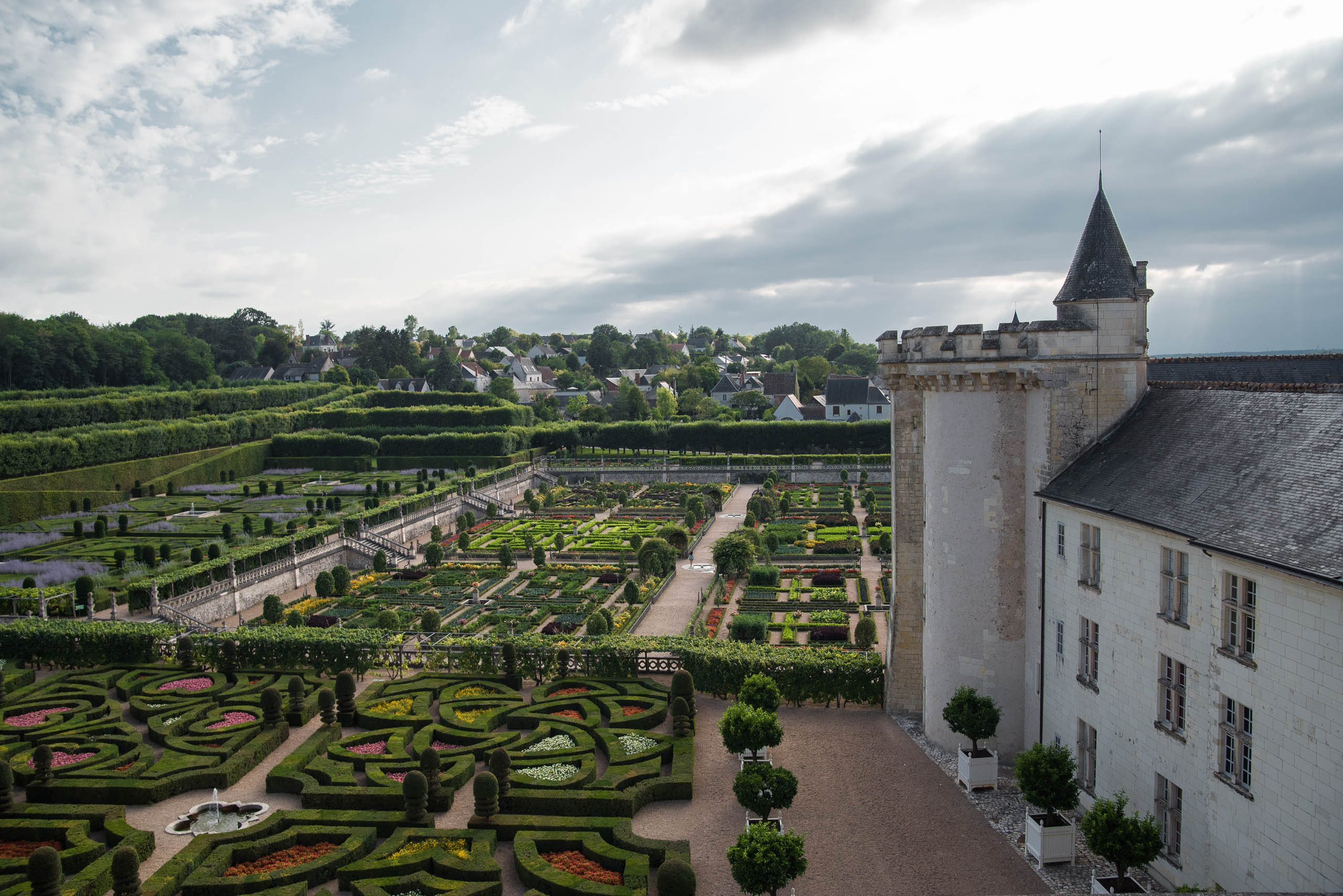 Zamek w Villandry
