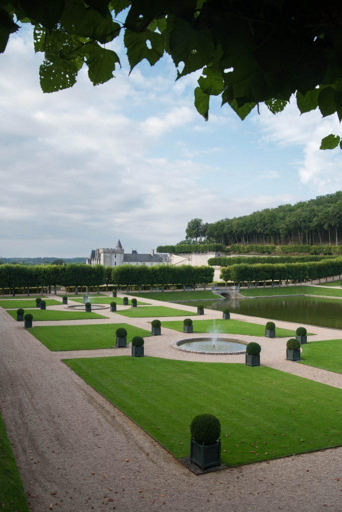 Zamek Villandry - ogrody