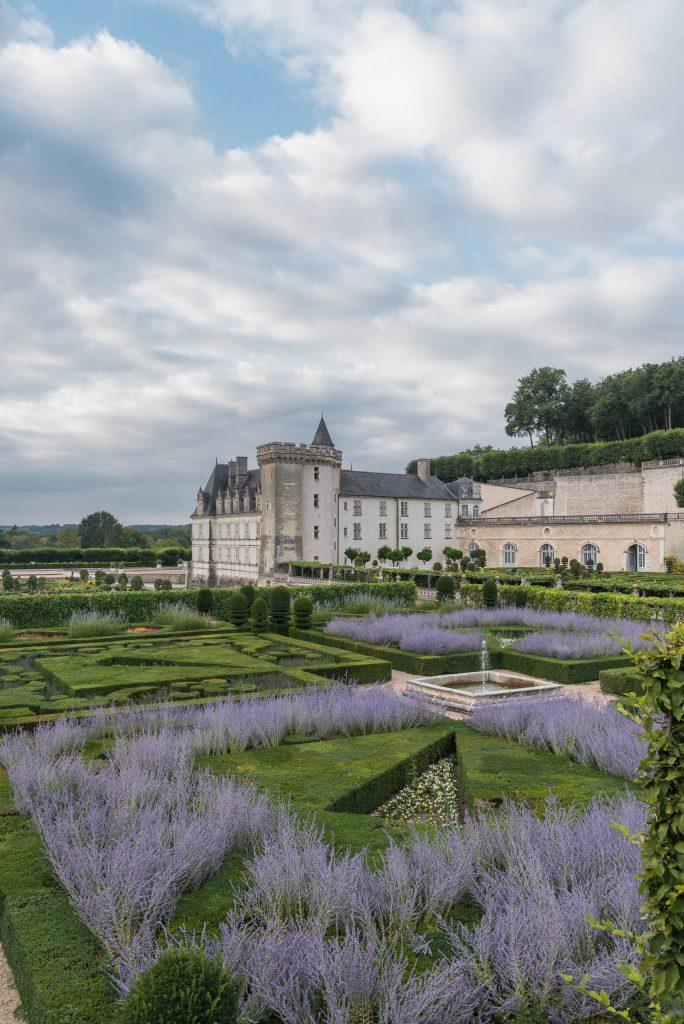 Ogrody przy Château de Villandry