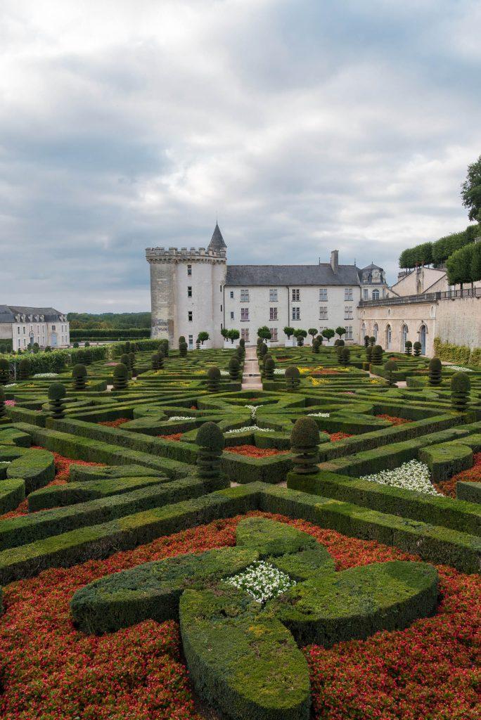 Ogrody przy zamku Villandry